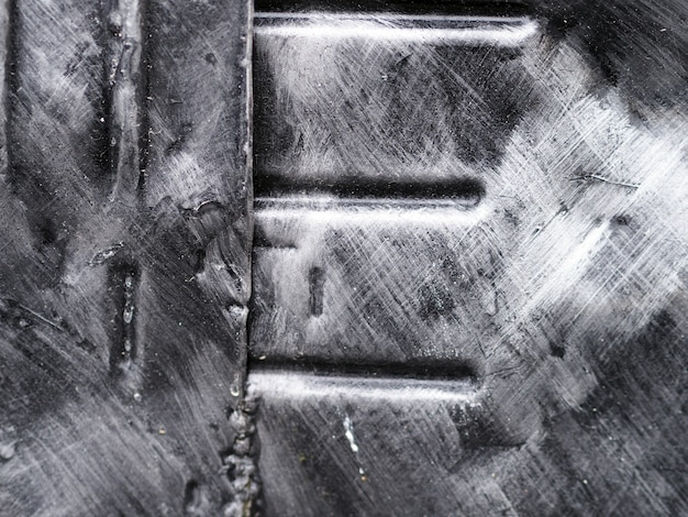 Iron plate abstract.