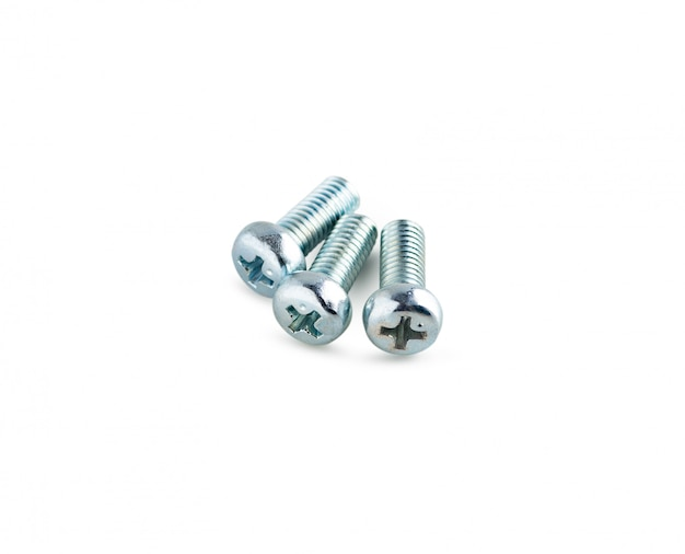 Iron screw isolated