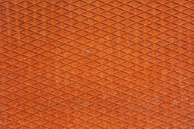 녹과 철 벽입니다. 오렌지 질감된 표면입니다. 고품질 사진