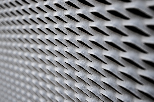 Iron wire industrial fence panel background