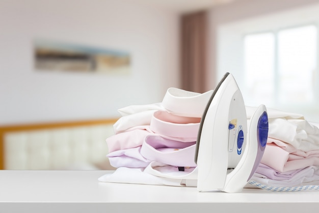 Ironing clothes housework equipment