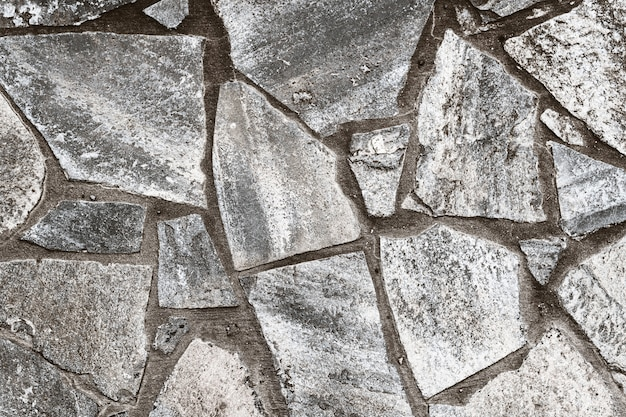 Irregular paving stone texture background.