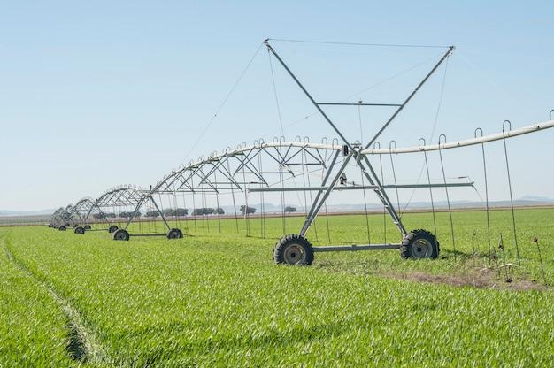自然の中での灌漑シリーズ
