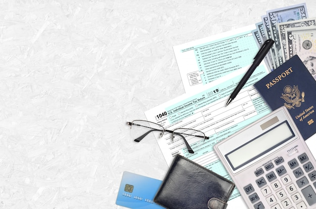 Форма irs 1040 индивидуальная налоговая декларация