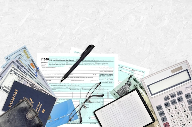 Форма irs 1040 сша индивидуальная налоговая декларация