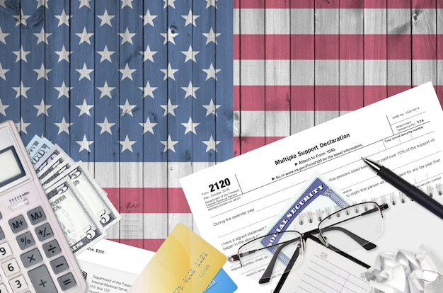 Irs form 2120 multiple support declaration