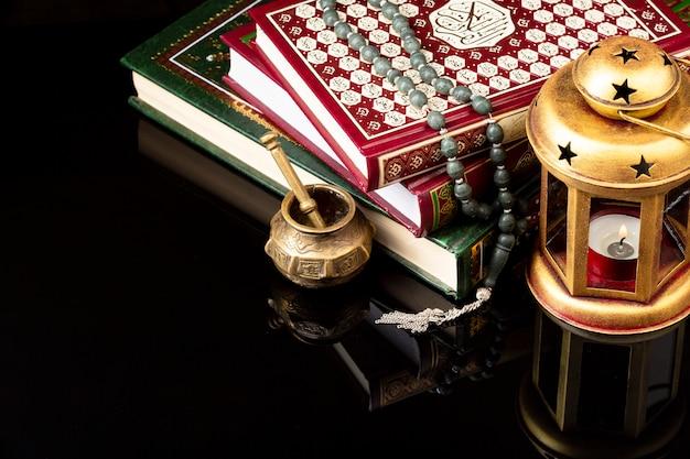 Islamic new year concept arrangement