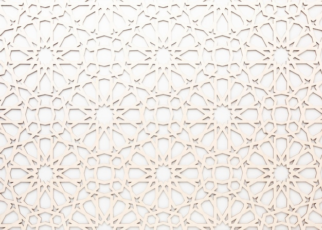 Islamic new year pattern background
