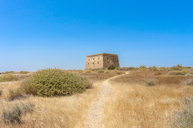 Island of tabarca in the mediterranean - costa blanca - spain