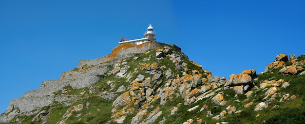 Islas cies islands lighthouse faro cies in vigo