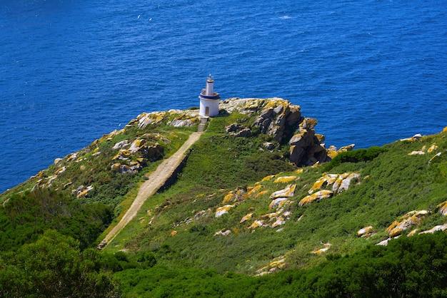 Islas cies islands lighthouse faro da porta in vigo