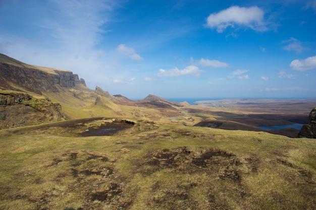 スカイ島、島、スコットランド