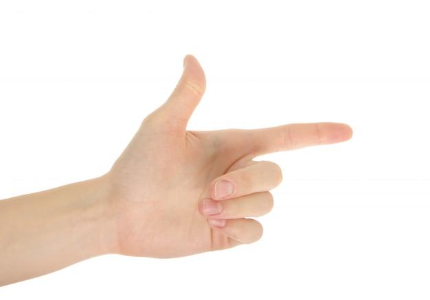 Рука isoalted
