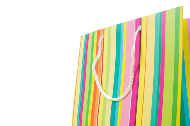 Красочная сумка для покупок