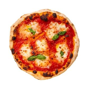 Изолированные вкусная неаполитанская итальянская пицца