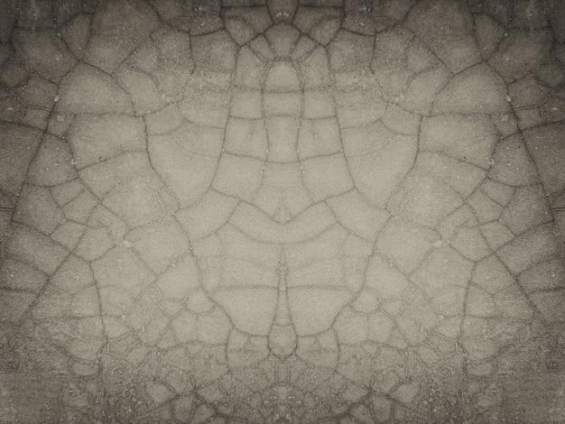 고립 된 고민 된 벽 석고 배경