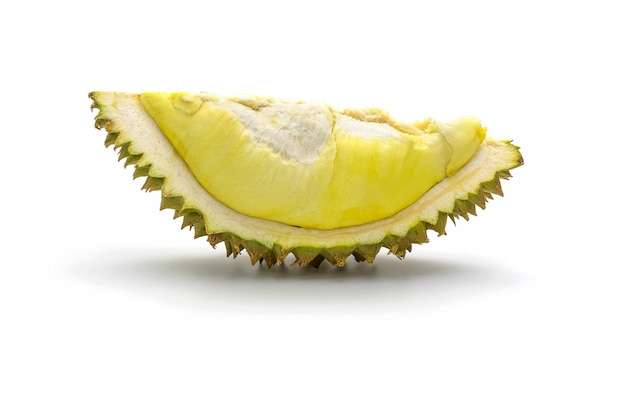 Isolated durian king of fruit