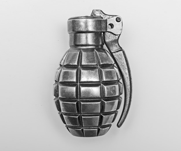 Isolated grenade