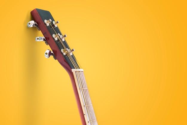 孤立したギター