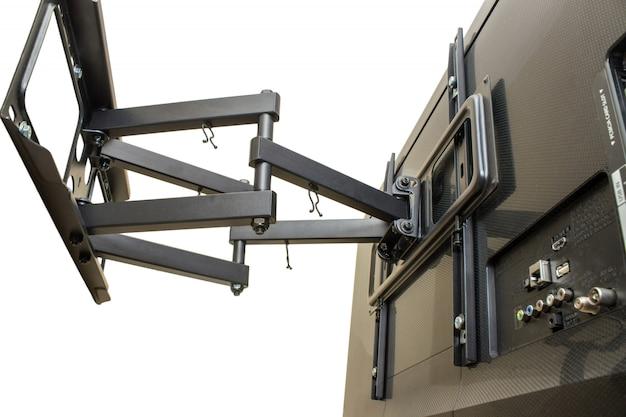 Isolation black bracket for tv