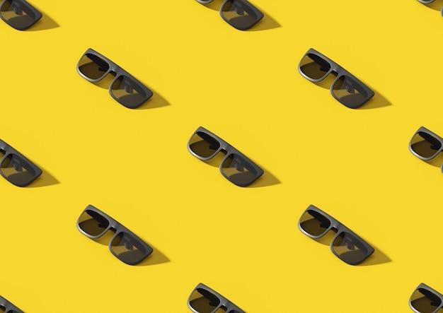 Изометрические бесшовные солнцезащитные очки