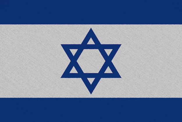 Israel fabric flag