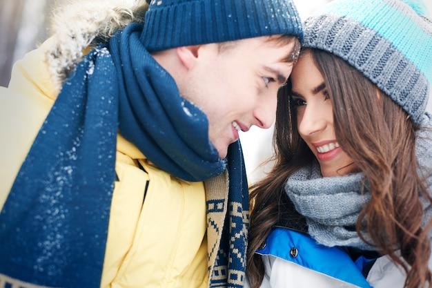 恋するカップルにとって特別な瞬間です