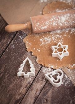クリスマスのクッキーを焼く時間です