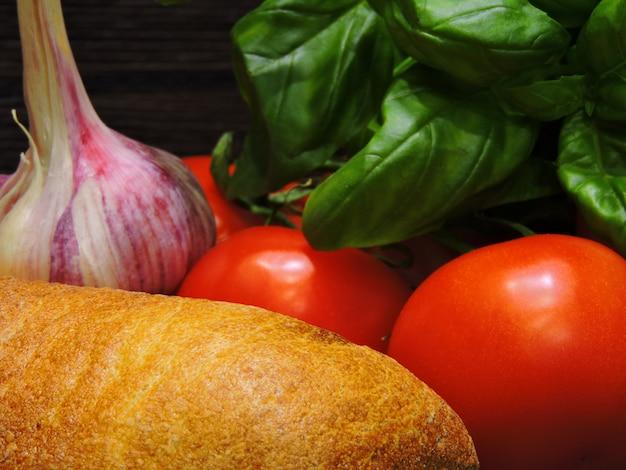 イタリアのブルスケッタのレシピ。