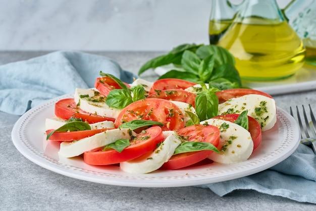 Italian caprese salad antioxidant antipasto mediterranean starter delicious and vegetarian