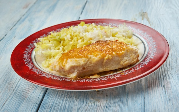 Italian chicken schnitzel - cotoletta di pollo
