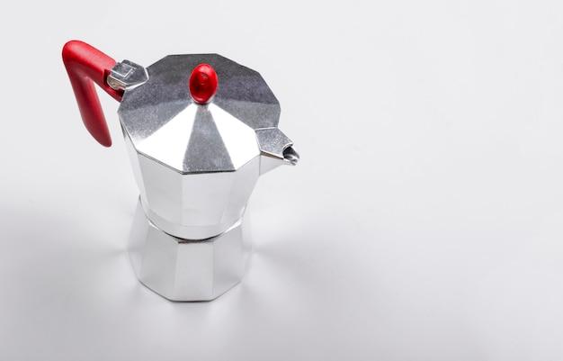 Italian geyser type coffe maker