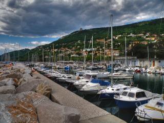 Итальянский гавани, побережье