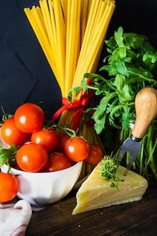 Итальянская паста ингредиенты