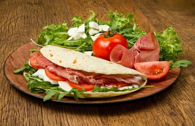 Italian piadina