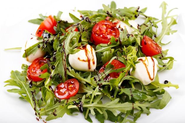 Italian salad close up
