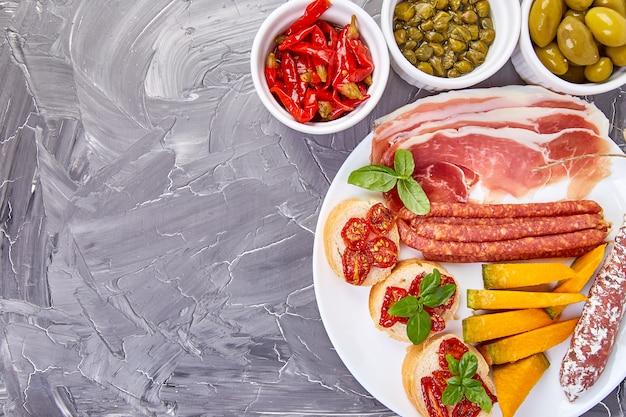 Italian snacks set