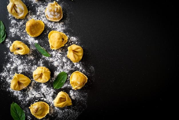 Italian traditional tortellini pasta - italian food style