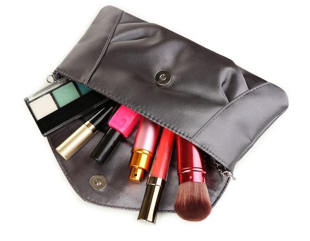 흰색 여성용 핸드백에 포함 된 항목