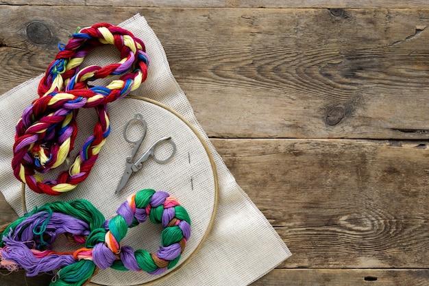 刺繡用アイテム。