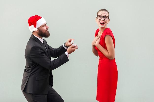 クリスマスの手と心の文