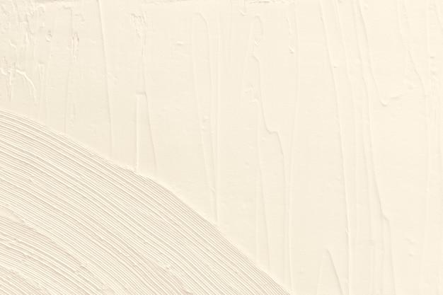 アイボリーアクリル絵の具テクスチャ背景