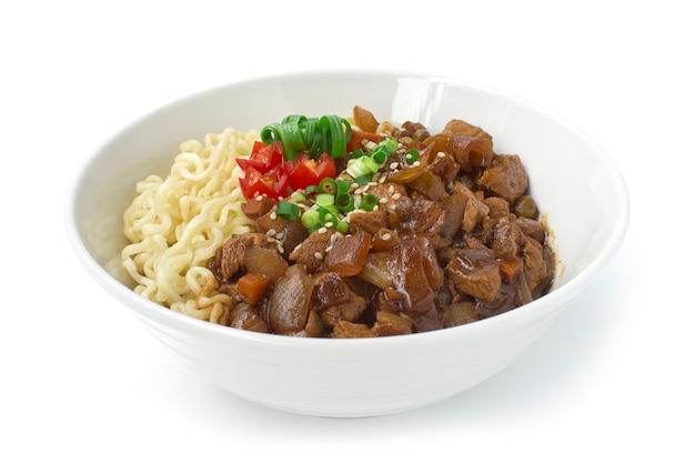 ジャ・ジャンミョン麺