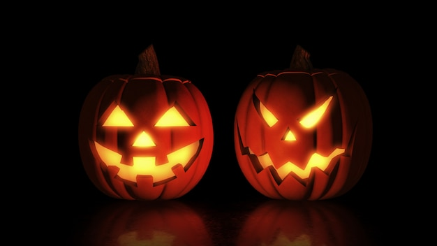 Джек о фонарь хэллоуин тыква