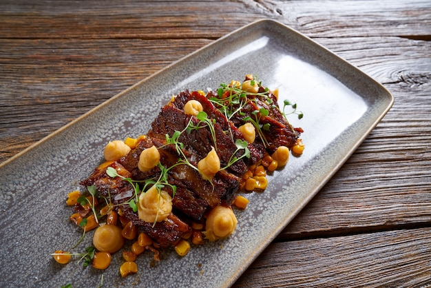 Jacks beef with corn usa recipe