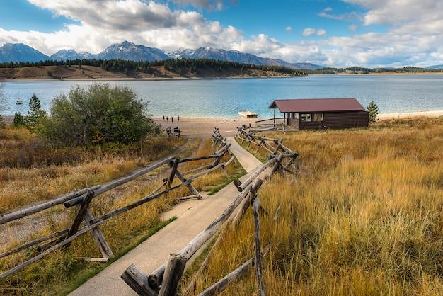 Jackson lake Premium Photo