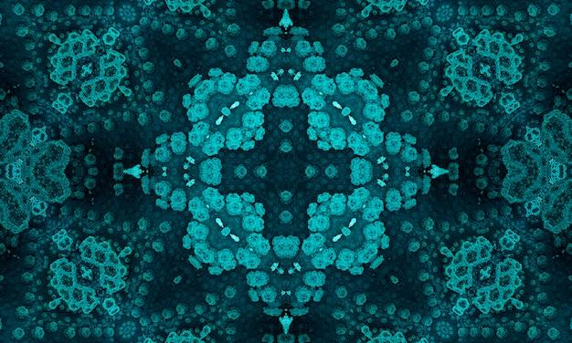 Jade cross. geometric pillow. seafoam aztec ikat background. olive ethnic seamless.