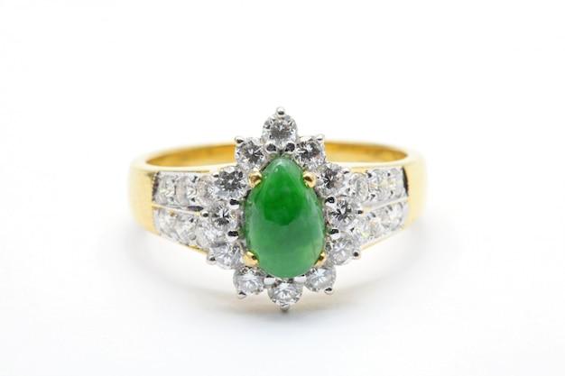 Jade diamond обручальное кольцо