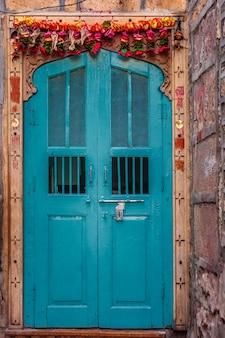 ジャイサルメールアンティークドア