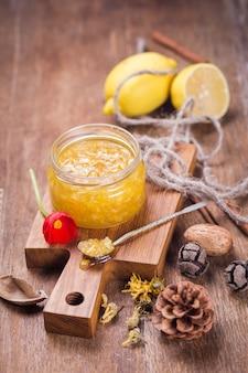 Jam from lemon
